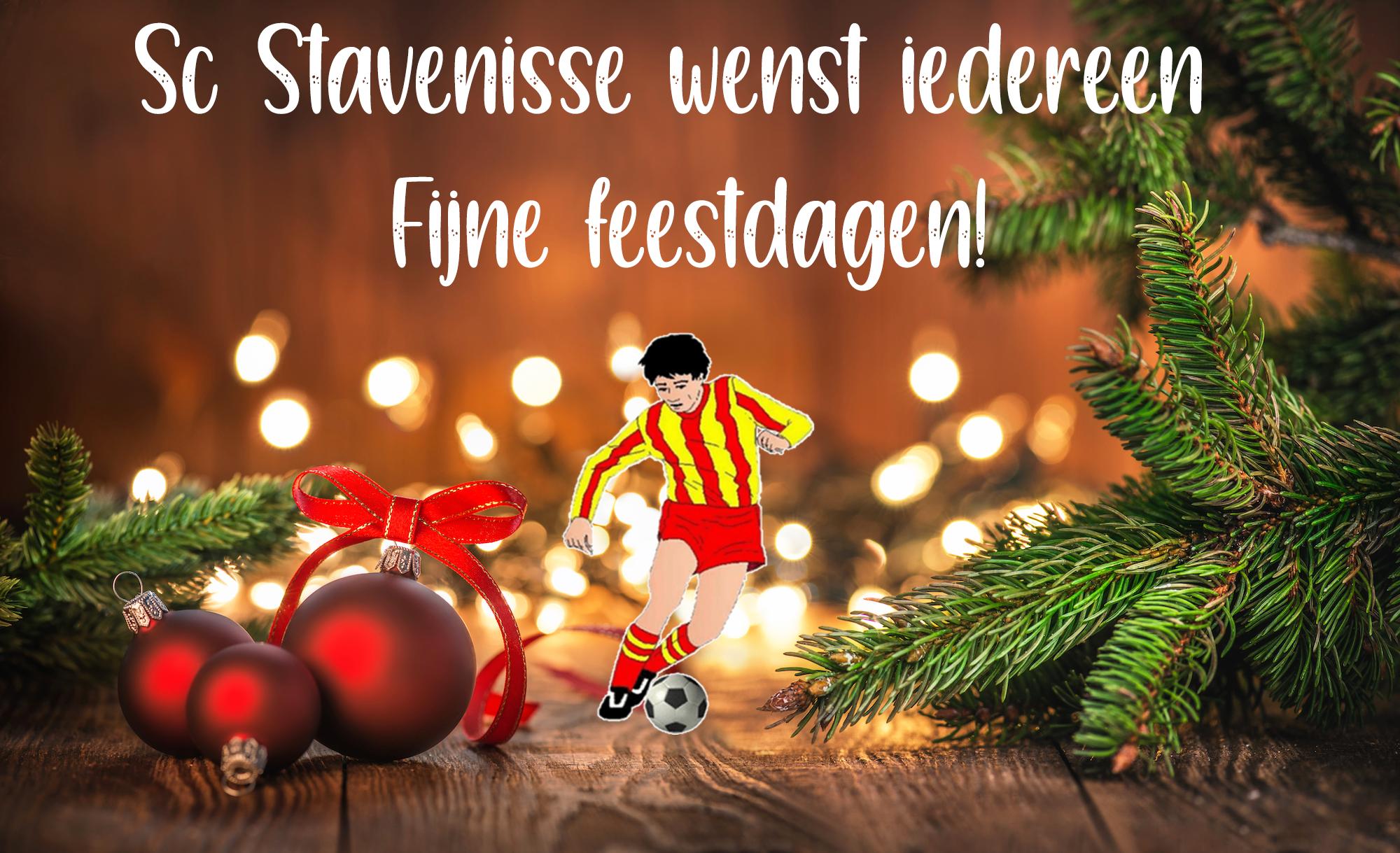 Fijne feestdagen en een gezond en sportief 2021!